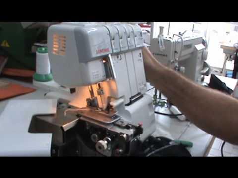 janome overlock 4 HILOS 1110 dx semi industrial MAQUINERIA
