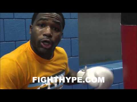 ADRIEN BRONER SAYS HE DOESN'T COPY FLOYD MAYWEATHER, BUT EXPLAINS WHAT HE'S STOLEN FROM HIM