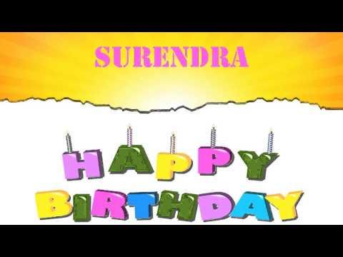 Surendra   Wishes & Mensajes - Happy Birthday