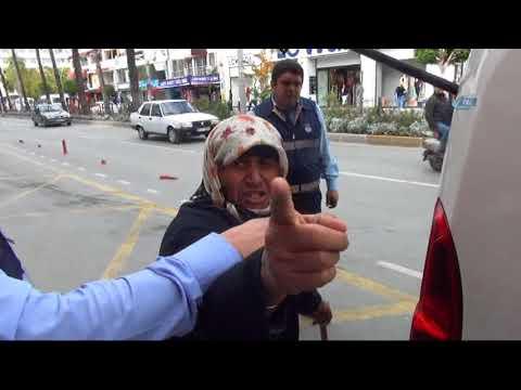 Yakalanan Dilenci Hıncını Gazeteciden Aldı