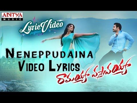 Neneppudaina Video Song With Lyrics II Ramayya Vasthavayya Songs II Jr NTR, Samantha Photo Image Pic