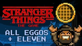 Stranger Things: The Game - All 8 Eggos + Unlock Eleven