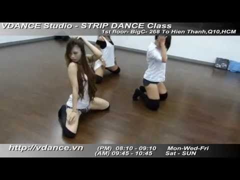 Sexy dance - Strip dance by FOX Kieu Ngoc VDANCE Studio