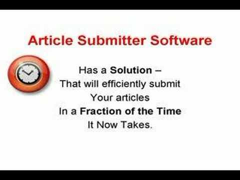 0 Automating Article Submission