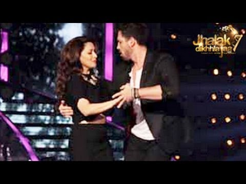 Madhuri Dixit's Sexy Dance In Jhalak Dikhla Jaa 7 14th June 2014 Full Episode 3 -- Surprise !! video