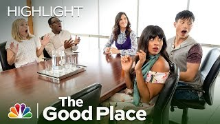 Chidi's Mind Is Blown by the Time-Knife - The Good Place (Episode Highlight)