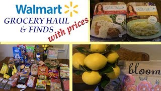 WALMART GROCERY HAUL WITH PRICES | INTERESTING FINDS