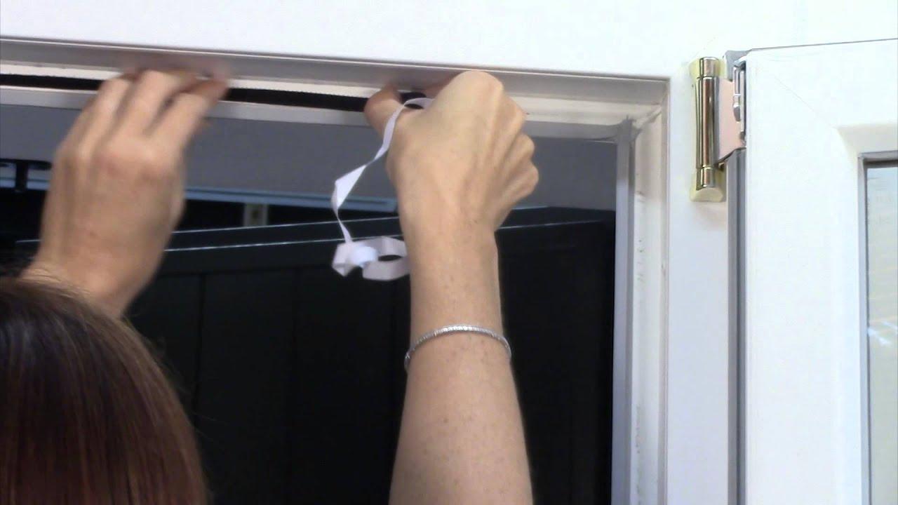 Nastro adesivo per zanzariere a strappo clarissa tape for Ikea zanzariere