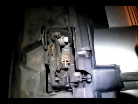 Volkswagen hood latch operation - YouTube