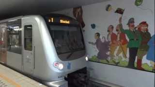 Métro et tramway souterrain de Bruxelles