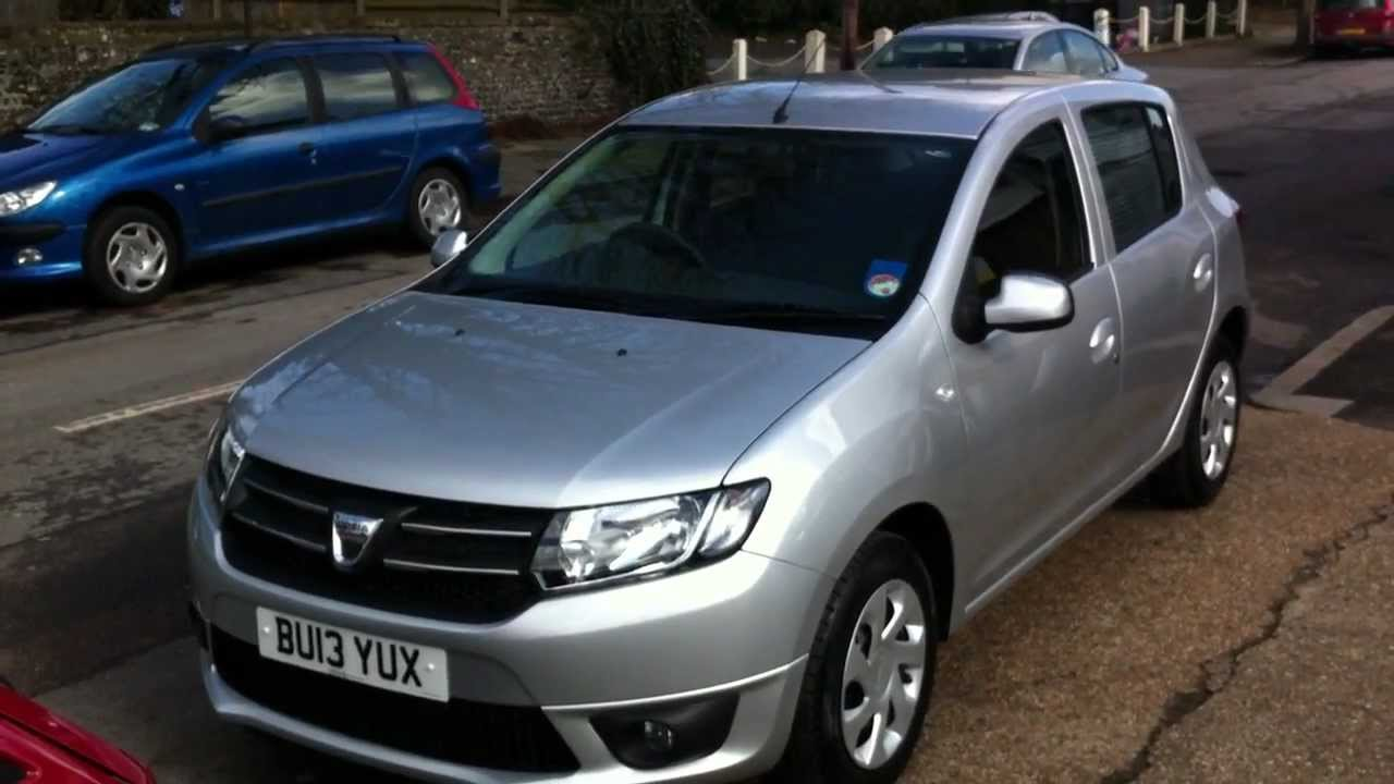 the new dacia sandero laureate 900cc tce 90 hp youtube. Black Bedroom Furniture Sets. Home Design Ideas