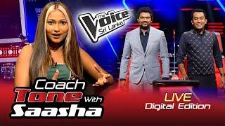 Coach Tone With Saasha - Coach BnS | Digital Edition | Exclusive | The Voice Sri Lanka