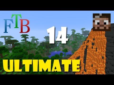 Minecraft Feed the Beast - Melee turtle + XP turtle = Sant! - Avsnitt 14 [svenska]