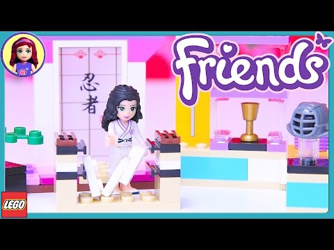 LEGO Friends Emma's Karate Class Build Review Silly Play - Kids Toys