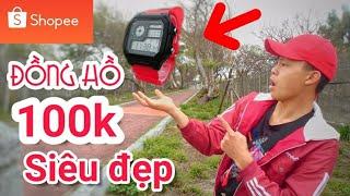 Review Đồng Hồ 100k Mua Trên Shopee Và Cái Kết Không Ngờ - Skmei 1299 - Lạ Vlog