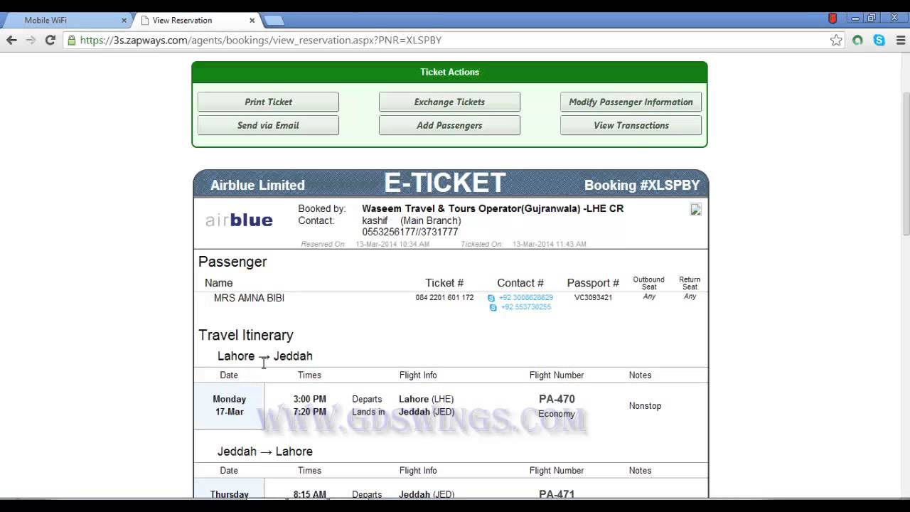 Blue air airlines check in online