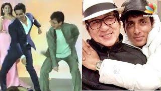 Jackie Chan's Punjabi dance with Sonu Sood | Video
