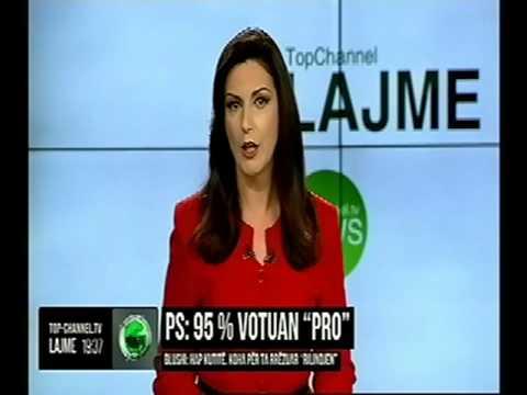 Edicioni Informativ, 10 Prill 2016, Ora 19:30 - Top Channel Albania - News - Lajme
