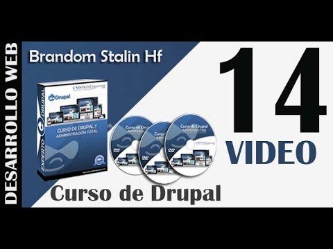 14 Curso de Drupal 7: Formatos de Texto - Editores en Drupal