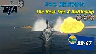 World of Warships- Montana- The Best Tier X Battleship (269,000 Damage)