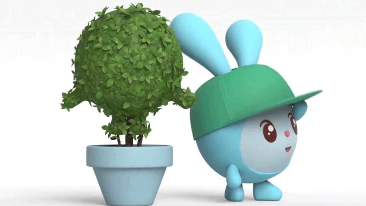 Малышарики - новые серии - Бу! (Серия 120)  Развивающие мультики для самых маленьких