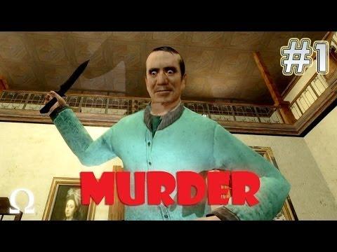 GMOD Murder #1 - CREEPY GRANDPA - Ft. Minx Yami Necro DLive...