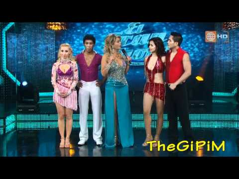 BELEN Estevez VS MARICIELO EFFIO: SALSA CUBANA ( HD ) - Reyes del Show 2011 - 4a Gala