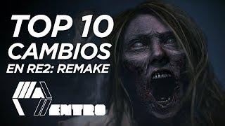 TOP 10 Cambios En El Demo de Resident Evil 2: REmake