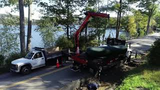 Torrco boom truck delivery