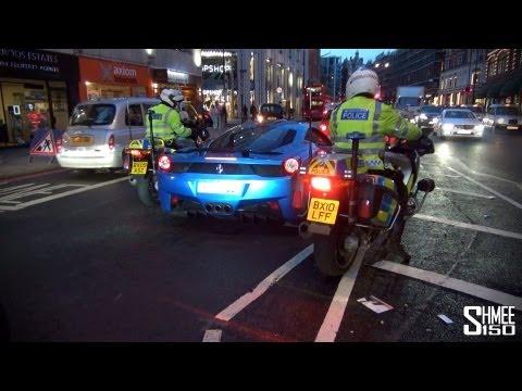 Police Check: Hamann Ferrari 458 from Saudi Arabia