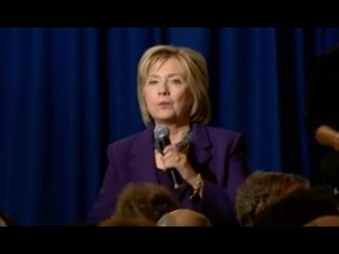 Hillary Agrees: BUILD A WALL At The Mexican Border - Great Idea She Admits - Trump Is Right