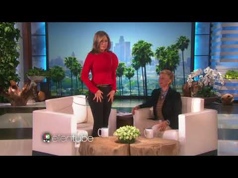 Jennifer Aniston and Ellen Play Last Word