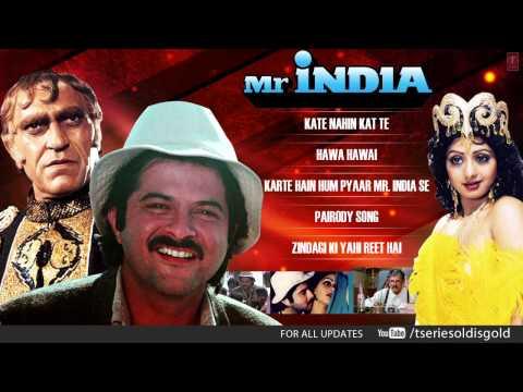 Mr. India Movie Full Songs | Anil Kapoor Sridevi | Jukebox