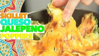 How to Make Baked Queso Jalapeno Poppers in a Skillet