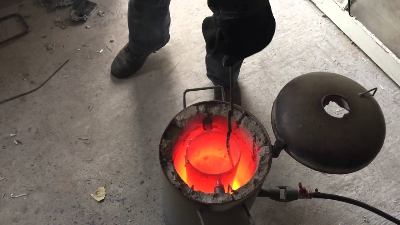 Как сделать печь для плавки металла 760