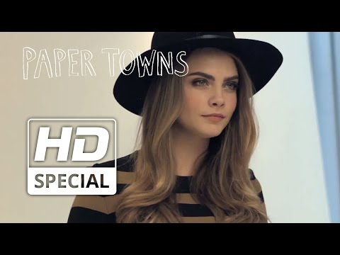 Paper Towns | 'Nat Wolff & Cara Delevingne Photo Shoot' | Official HD Video | 2015