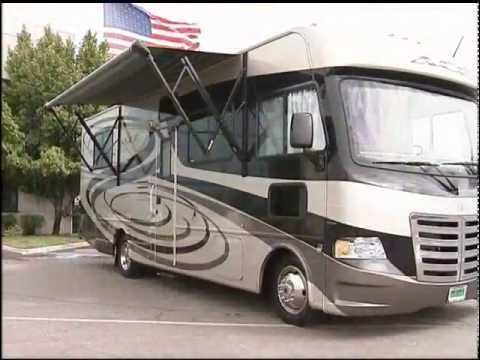 2012 Thor ACE RV REVIEW   Part 1 of 3: Motorhome Video Tour: Exterior (New Class A Motorhome)