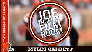 Joe Thomas' Film Room: Myles Garrett | Cleveland Browns