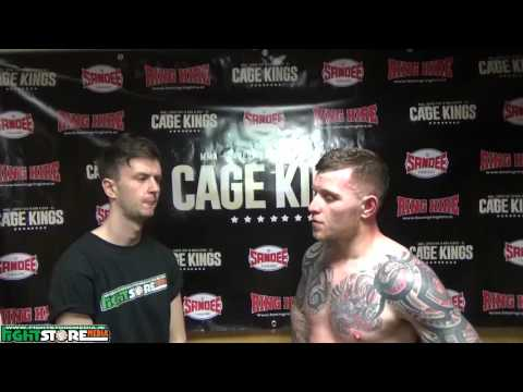 Stephen O'Neill post fight interview at Cage Kings Dublin.