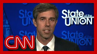 Tapper presses Beto O'Rourke about low poll numbers