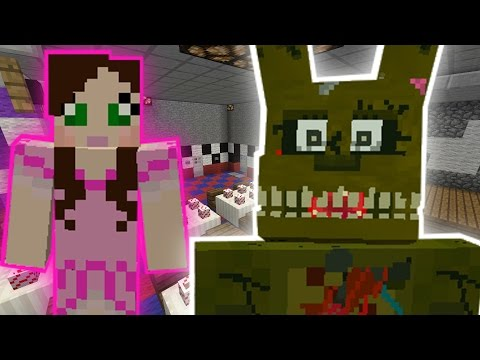 Minecraft: FIVE NIGHTS AT FREDDYS ESCAPE CHALLENGE - Modded Mini-Game