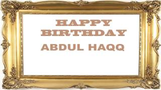 Abdul Haqq   Birthday Postcards & Postales
