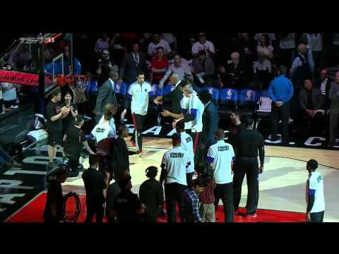 Drake Does Hilarious Player Intros And Flubs NBA Commissioners Name During Toronto Raptors 2nd Annual 'Drake Night'