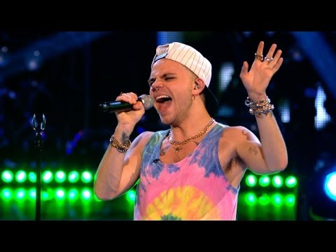 Vince Kidd performs 'My Love Is Your Love' - The Voice UK - Live Show 4 - BBC One
