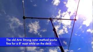 KX3 with Buddipole 2-element Yagi on 6m