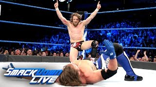 Daniel Bryan vs. AJ Styles: SmackDown LIVE, April 10, 2018