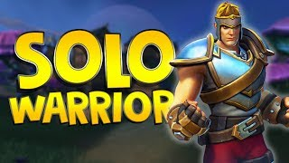 Powerful SOLO Warrior Gameplay | Realm Royale