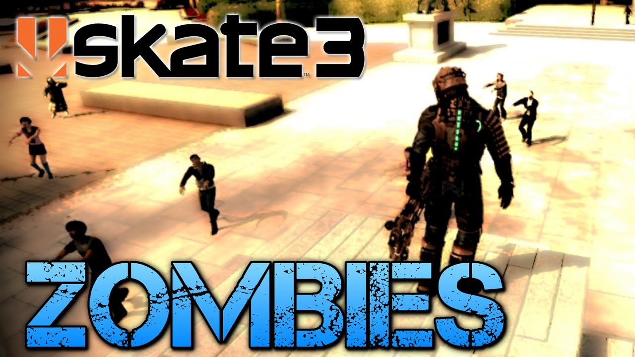Skate 3 part 7 zombies amp isaac clarke youtube