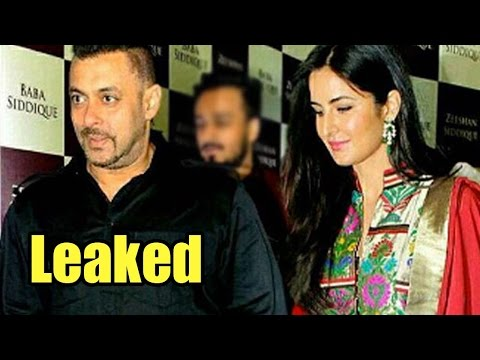 Leaked: Salman Khan And Katrina Exchange Pleasantries Secretly At Baba Siddique's Iftar Party