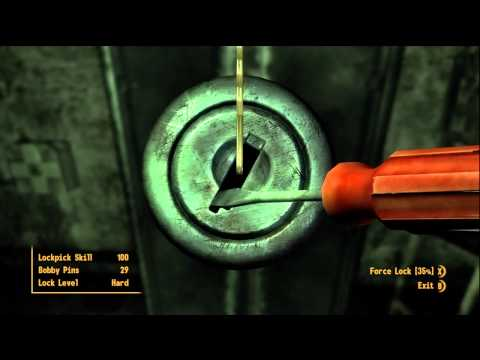 Fallout new vegas SECRET LOCATION with Gauss rifle and more for free